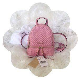 ✨🎀Michael Kors🎀✨     Rhea Chevron Quilt Backpack